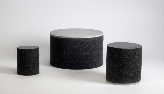 Laminated foam both closed cell and open cell